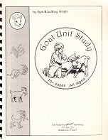 Goat Unit Study