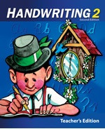 Handwriting 2, 2d ed., Teacher Edition (SOL03339)