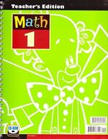 Math 1, 3d d., Teacher Edition