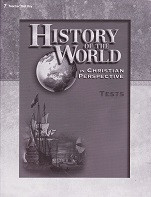 History of the World 7, 4th ed., Test Key
