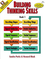 Building Thinking Skills, Level 1, student