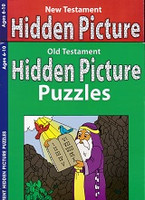Old Testament & New Testament Hidden Picture Puzzles Set