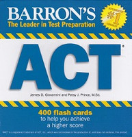 Barron's ACT 400 Flash Cards to Achieve Higher Score