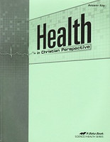 Health in Christian Perspective 9, Text Answer Key