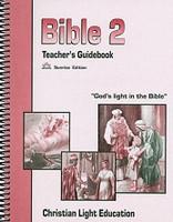 Bible 2 LightUnit Teacher Guidebook, Sunrise Edition