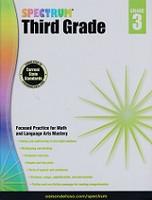 Spectrum Third Grade Focused Practice for Math, Language Art