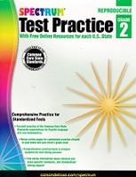Spectrum Test Practice 2, Common Core State Standards