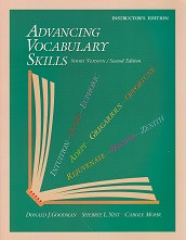 Advancing Vocabulary Skills, 2d ed., Instructor Edition