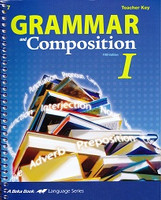 Grammar and Composition I (7), Teacher Key