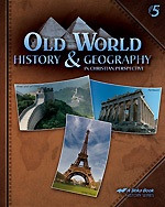 Old World History & Geography 5, 4th ed., student
