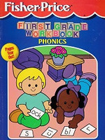 Fisher-Price First Grade Workbook: Phonics