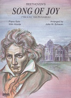 Beethoven's Song of Joy Piano Solo