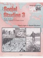 Social Studies 3 LightUnits 303-4 & 305-6 Set, Sunrise Ed.