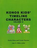 Konos Kids' Timeline Characters, Volume II
