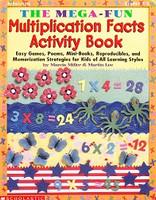 Mega-Fun Multiplication Facts Activity Book