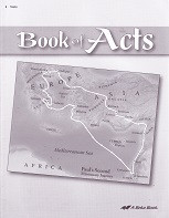 Bible 8: Book of Acts, Tests & Test Key Set