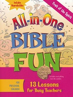 Fruit of the Spirit Bible Fun, for Preschool Children