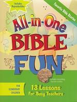 Favorite Bible Stories Bible Fun, for Elementary Children
