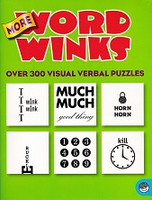 More Word Winks, over 300 Visual Verbal Puzzles