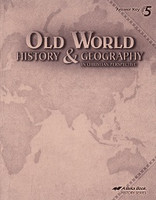 Old World History & Geography 5, Text Answer Key