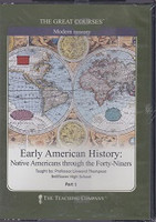 Early American History: Native Americans-Forty-Niners DVDs
