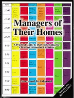 Managers of Their Homes, Daily Homeschool Scheduling