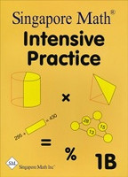 Singapore Math Intensive Practice 1B, workbook