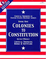 Colonies to Constitution, Book One; student