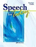 Speech for Today, 11-12, Teacher Guide
