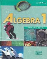 Algebra 1 (9), 2d ed., textbook