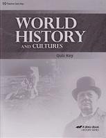 World History and Cultures 10, 3d ed., Quiz Key