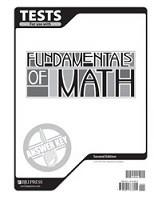 Fundamentals of Math 7, 2d ed., Test Key