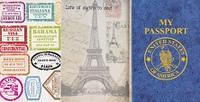 My Passport Sticker Book