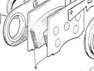GDB569 Brake Pads w/Sensor Front