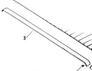 Header Rail Trim 75959 Biege
