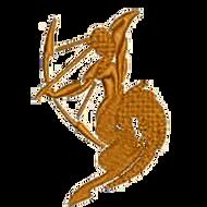 Sagittarius Archer Embroidered Digital Download