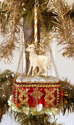 Reserved for Gabrielle – Ghent Altarpiece Lamb Ornament