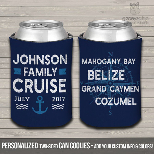 Nautical family reunion cruise can coolies