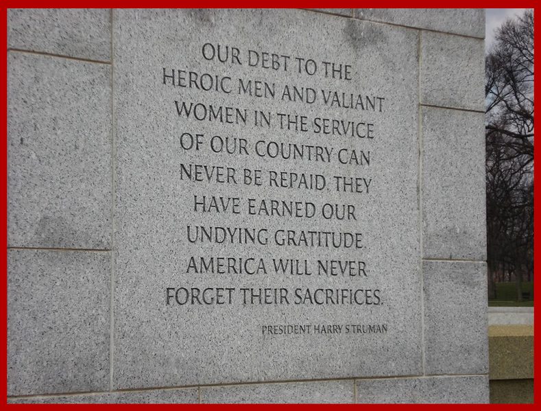 Thankful For Our Veterans