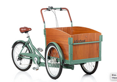 Virtue | Non Electric Schoolbus | Cargo Box Bike