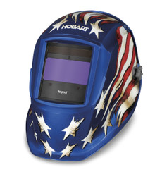 HOBART Impact Series Patriot III Auto-Darkening Variable Shade Welding Helmet