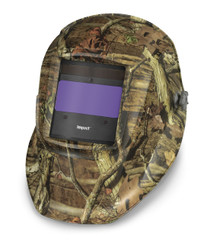 HOBART Impact Series Mossy Oak Camo Auto-Darkening Variable Shade Welding Helmet