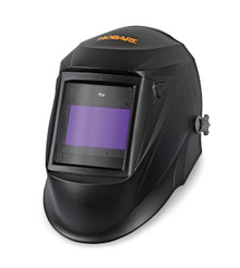 HOBART PRO Series Black, Large View Variable Shade Auto-Darkening Welding Helmet