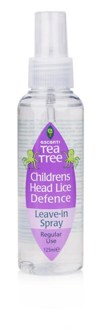 ESC029 125ml Tea Tree Head Lice Repeal