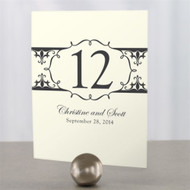 Fleur De Lis Water Table Number Cards (Set of 12)