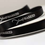 """Just Married"" Ribbon"