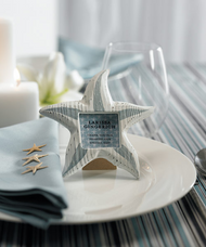 Small Wooden Starfish Photo Frames (Set of 8)