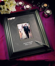 Framed Inscribable Signature Keepsake Mat Kit