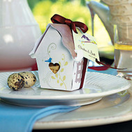 Sweet Bird House Favor Box (Set of 12)