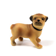 Miniature Pug Dog Figurine/Cake Topper